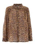 Mes Demoiselles Feline Shirt - BROWN (Beige)