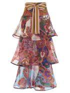 Zimmermann 'the Lovestruck Flounce' Skit - Multicolor