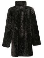 DROMe Fur Coat - Black