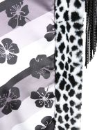 Ainea Eco Fur Animalier Jacket - BIANCO