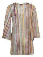 Missoni Rainbow Striped Blouse - X