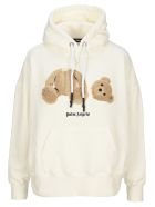 Palm Angels Bear Hoodie - Off white
