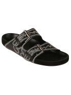 Isabel Marant Western Stitch Sandals - Black