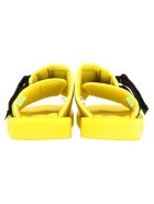 Palm Angels Palm Angels Suicoke Patch Slider - YELLOW