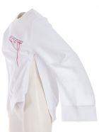Rokh Asymmetric Sweatshirt - White