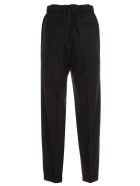 Blumarine Pants Elastic Waist W/lapel - Nero