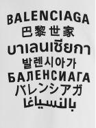 Balenciaga 'languages' Sweater - White