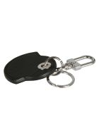 Moncler Classic Keyring - Nero