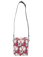 Valentino Garavani Cross Body Bag - Rouge pur/nero