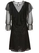 See by Chloé Ruffle Sleeve Dress - .black