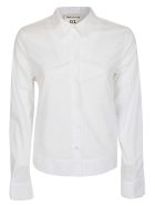 SEMICOUTURE Plain Fitted Shirt - White