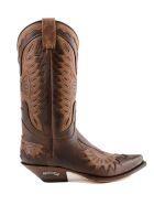 Sendra Texan Ankle Boots - Chocolate