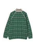 Gucci Green Bomber Jacket - Bianco