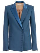 SSHEENA Jacket Wool Revers - Blue