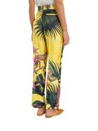 For Restless Sleepers Zelos Silk Twill Pajama Pants - Giallo