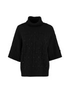 Max Mara Studio Sandalo Wool And Cashmere Sweater - black
