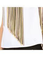 Trussardi Bluse - White - Multicolor