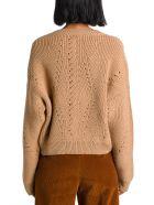 Alberta Ferretti Cropped Sweater - Beige