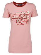 Dolce & Gabbana T-shirt - Scritte dg fdo rosa