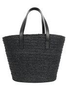 Saint Laurent Panier Hand Bag - Nero/nero