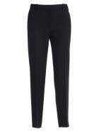 N.21 Pants Cady W/curl Behind - Nero