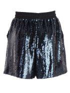 Emporio Armani Sequined Skirt - Blu