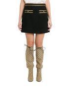Gucci Tweed Mini Skirt - Nero