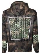 Valentino Logo Print Jacket - Basic