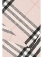 Burberry Giant Check Scarf - ASH ROSE (Pink)