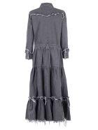 Alanui Denim Long Dress - Silverlake