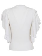 See by Chloé Flared Blouse - 101.white