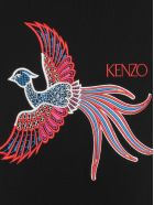 Kenzo Front Embroider Sweater - Black