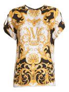 Versace Baroque T-shirt - MULTICOLOR
