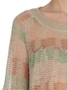 Missoni Cropped Sheer Sweater - Multicolor
