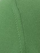 Drumohr Cotton Sweater Crew Neck - Green