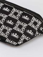 Dolce & Gabbana Graffiti Print Belt Bag - Black