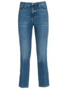 Frame Jeans Slim Cropped High Waist - Marlin