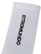 Marcelo Burlon Socks - White/black