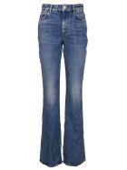 The Attico Light Blue Cotton Vitto Jeans - LIGHT BLUE