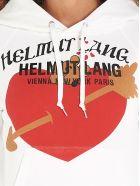 Helmut Lang 'standard Slim' Hoodie - White