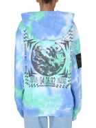 McQ Alexander McQueen Relaxed Fit Sweatshirt - BLU