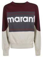 Isabel Marant Logo Print Sweatshirt - burgundy