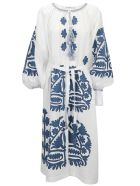 Vita Kin Shalimar Dress - White/cobalt
