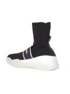 Stella McCartney Loop Hi-top Sneakers - Black Navy Gold White