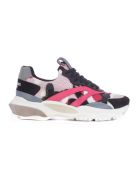 Valentino Garavani Bounce Sneakers - Candy Pink Black