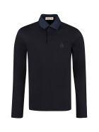 Lanvin Cotton Piqué Polo Shirt - blue