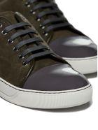 Lanvin Toe Cap Sneakers - Verde grigio