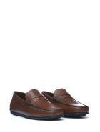 Tod's Tod's Brushed Leather Loafer - MARRONE