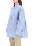 R13 Oxford Oversized Shirt - LIGHT BLUE (Light blue)