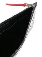 Givenchy Large Logo Pouch - Black white
